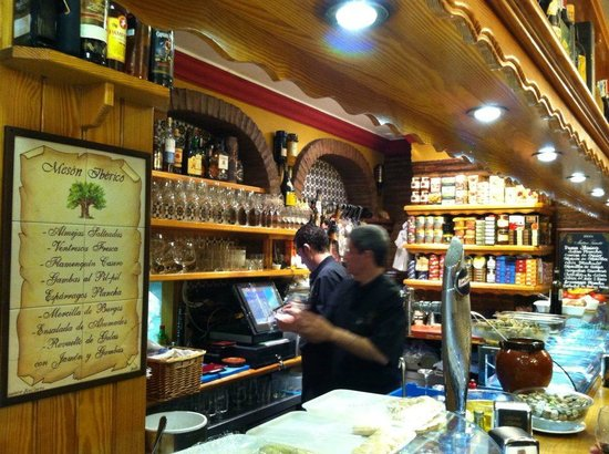 Meson Iberico: Bar area