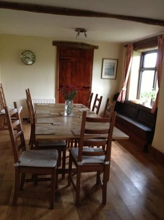 Haddon Grove Farm Cottages: kitchen/dining room