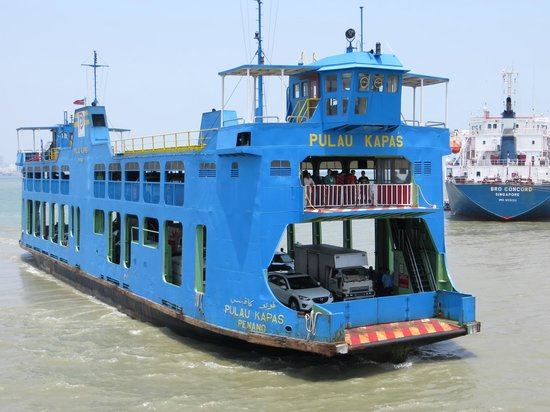 Hotel Sentral Georgetown: Ferry from Mainland