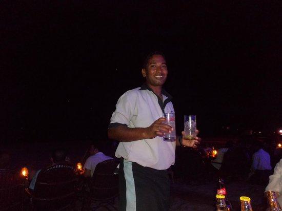 Shining Star Beach Shack: Reddy the best Waiter
