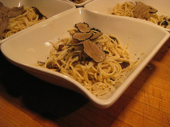 Frank's Cucina a Italian Supper Club: Umbrian spaghetti with truffles