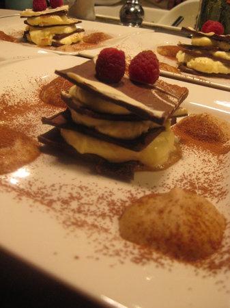 Frank's Cucina a Italian Supper Club : Chocolate millefoglie