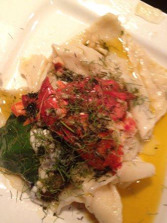 Frank's Cucina a Italian Supper Club : Lobster ravioloni