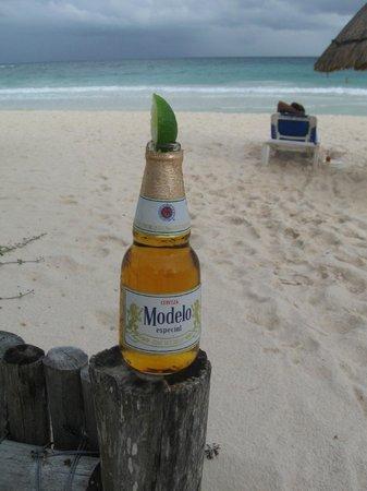 Tita Tulum Hotel Ecologico: Beach -