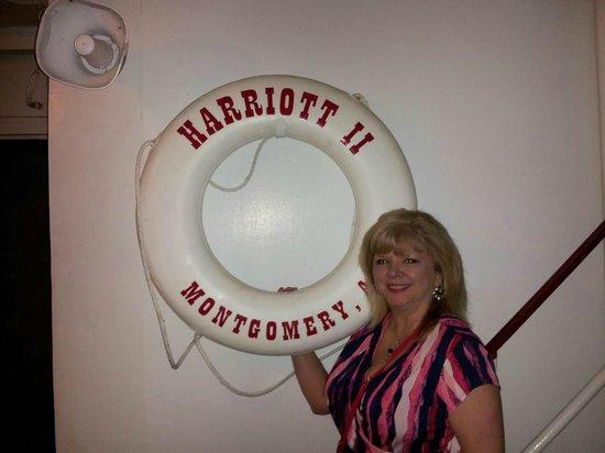 Harriot II Riverboat: Life saving equipment