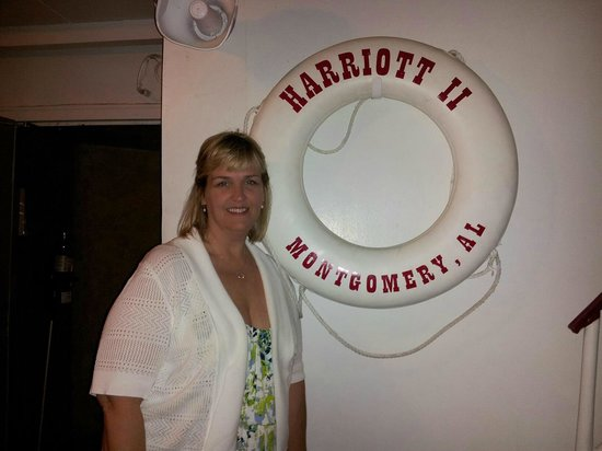 Harriot II Riverboat: Ready for anything