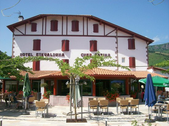 Hotel Restaurant Eskualduna : Hotel ESKUALDUNA - CHEZ KATINA