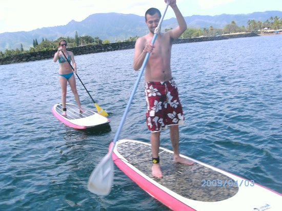 Stand Up Paddle Lessons -- Rainbow Watersports Adventures: SUPPPP