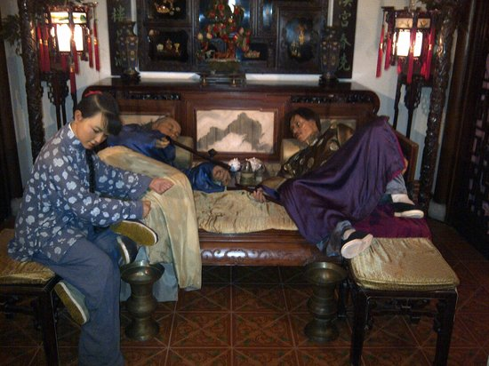 Depiction of Opium Den - Picture of Shanghai History ...