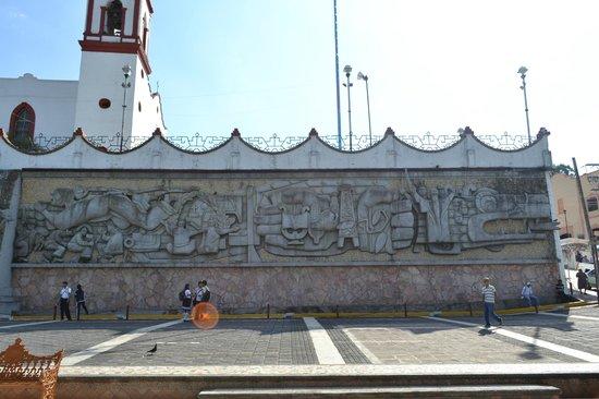 Mural De Quetzalcoatl Picture Of Papantla Veracruz