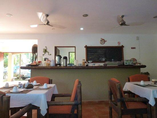 Rio Tico Safari Lodge : Frühstücksraum