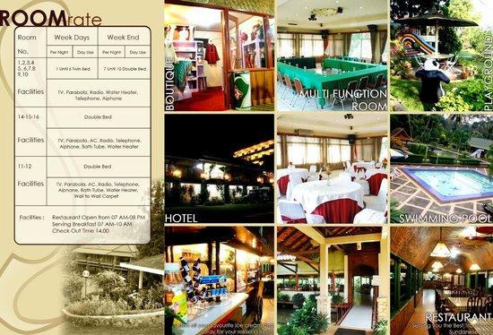 Rafflesia restaurant: restoran dan hotel Rafflesia murah indah dan berkelas, walau tak berbintang