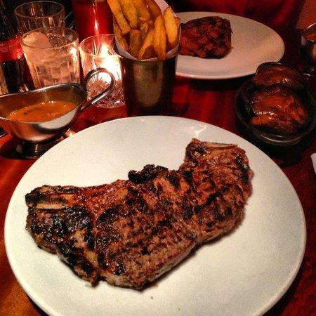 Hawksmoor Spitalfields: Sirloin Steak