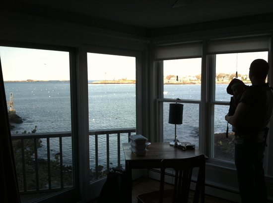 Notorious Annie's Waterfront Inn : View from Annie's Suite