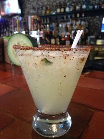 Agave Mexican Grill: Cucumber Margarita