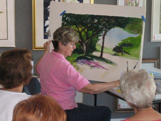 Island Gallery West: Free weekly art demos on Saturday mornings from Jan.-Apr. at IGW
