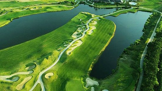 Barefoot Resort & Golf - Dye Course: Dye Overhead