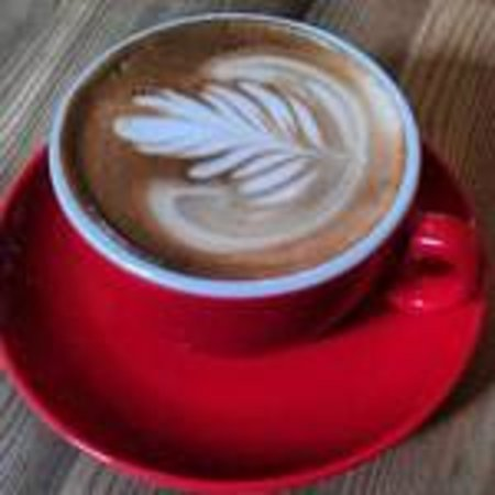 Strangers with coffee : Flat white