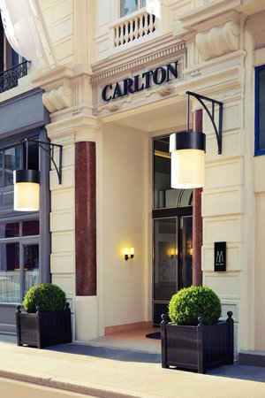Hotel Carlton Lyon - MGallery Collection: entrée hôtel carlton lyon