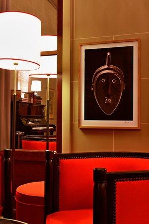 Hotel Carlton Lyon - MGallery Collection: détail bar carlton