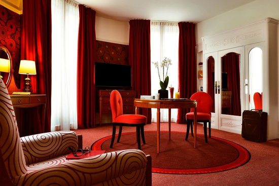 Hotel Carlton Lyon - MGallery Collection : la chambre rotonde