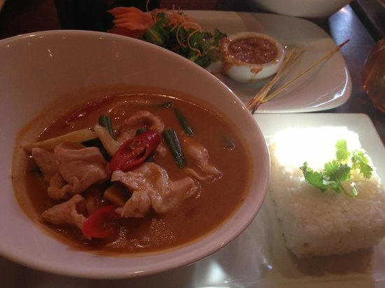 Koh Thai Tapas: Red curry
