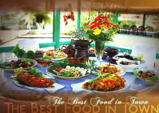 Rafflesia restaurant: The best Sundanese food in west Java