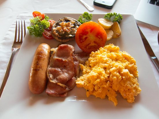 Aqua Marina Guest House: Second part of breakfast