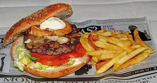 La Grille Burger: Hamburguesa de foie