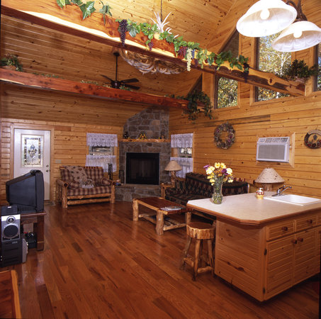 Bear mountain log cabins updated 2017 prices reviews Cabins eureka ca