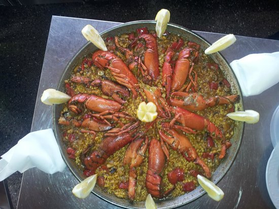 Casa Do Pulpo: paella de bogavante