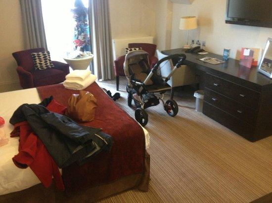Mercure Aberdeen Caledonian Hotel: Sleeping Area