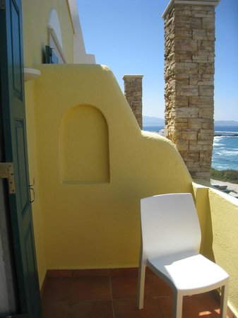 Hotel Grotta: balcon