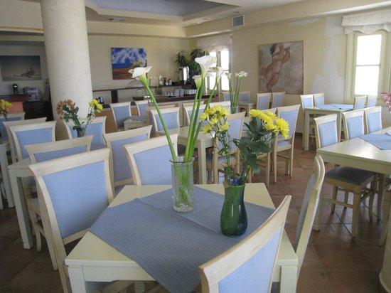 Hotel Grotta: salle de breakfast