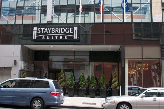 notre h tel foto di staybridge suites times square new. Black Bedroom Furniture Sets. Home Design Ideas