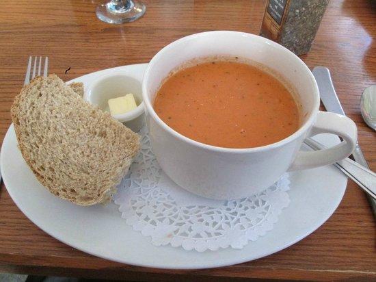 The Trellis Cafe: Homemade tomato soup