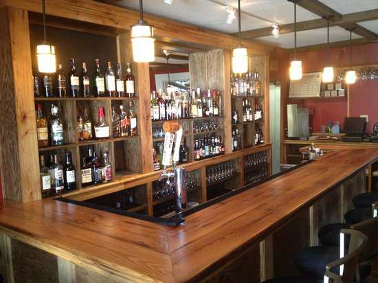 Chez Nous: Our newly renovated bar