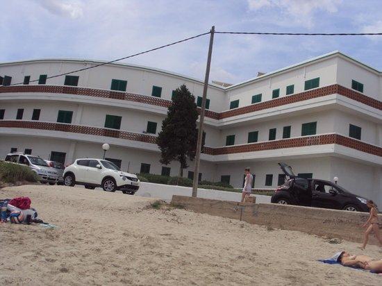 Hotel Tagomago: Hotel from Beach