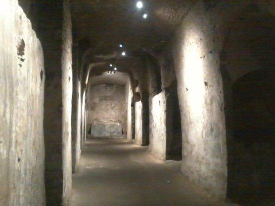 Catacombe Di San Gaudioso Napoli: interni