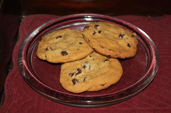 Blackberry Inn at Yosemite: GALLETAS PARA NUESTRA LLEGADA