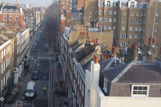 The Leonard Hotel: Vista dalla mia camera