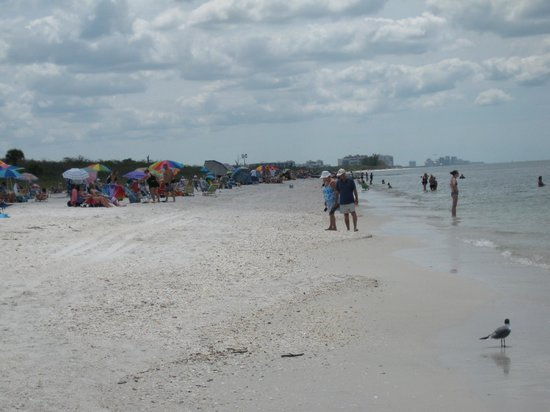 Barefoot Beach Preserve: Barefoot Beach with work in distance