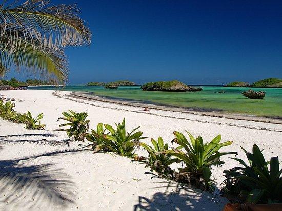Jambo House Resort: Watamu Bay, la spiaggia sotto casa
