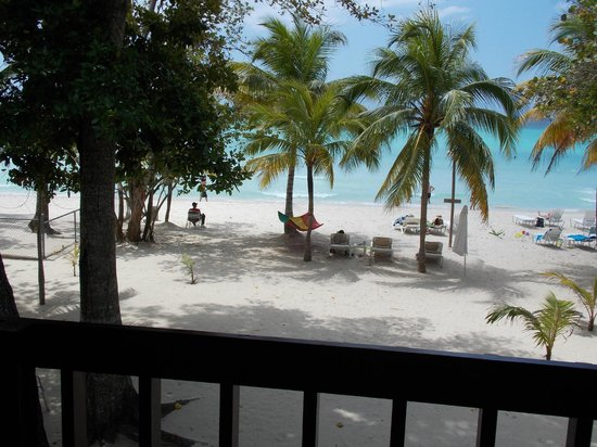 Nirvana on the Beach: From verandah