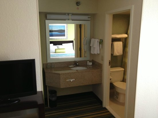 SpringHill Suites Houston Hobby Airport: Bathroom