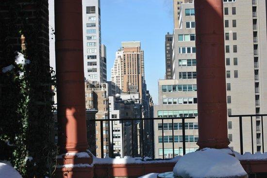Pod 39 Hotel : Vue de la terrasse