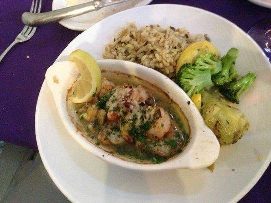 Balsam Mountain Inn & Restaurant: Shrimp and Rice Supper
