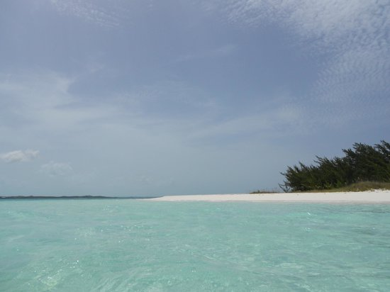 Out-Island Explorers Day Charters: Beautiful deserted beaches with powdery sand.