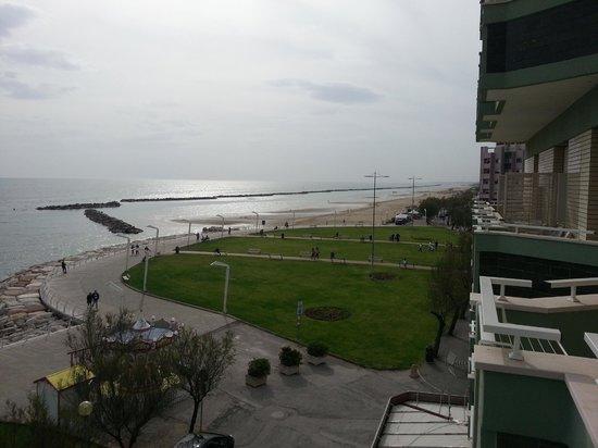 Hotel Metropol: Panorama dalla finestra piano 2°