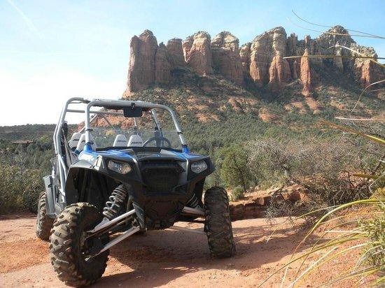 Red Rock ATV Rentals: RZR 4 Robby Gordon Edition conquers